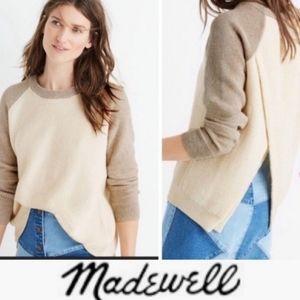 Madewell Sweater Criss Cross Province